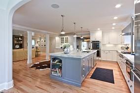 热门面积76平混搭二居厨房欣赏图片大全