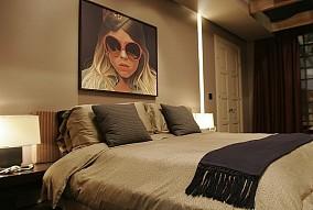 热门90平米二居卧室混搭装修实景图片欣赏
