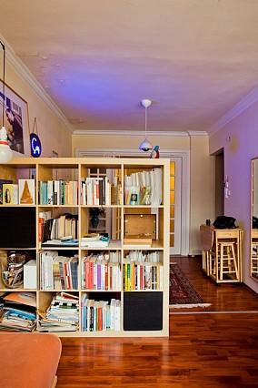 热门面积114平复式书房混搭装修图