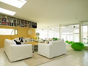 精美121平米混搭复式客厅装修效果图片欣赏