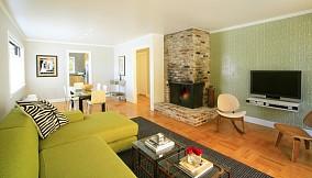 精美110平米混搭复式客厅装修图片大全