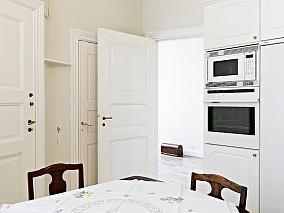 简单客厅弧形吊顶图片