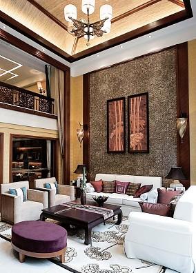 房屋高客厅室内设计效果图