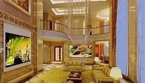热门141平米混搭别墅客厅装修欣赏图片大全
