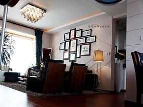 2018精选面积140平简约四居客厅效果图片大全