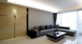 面积122平复式客厅日式欣赏图片大全