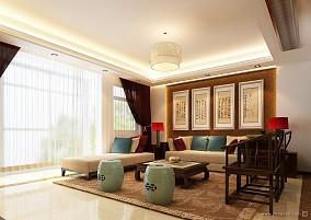 热门81平方二居客厅混搭装修效果图片