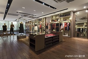 时尚服装店铺装修效果图片