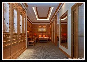 欧式豪华装修客厅