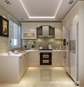 热门面积100平混搭三居厨房装修设计效果图