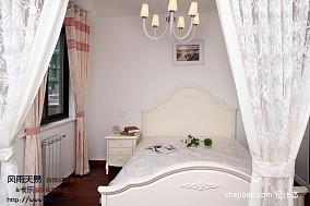 现代女儿童房窗帘装修效果图
