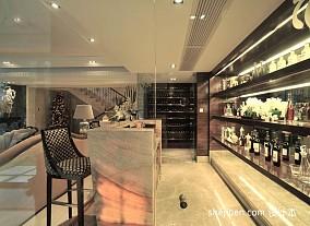 简约欧式别墅酒柜图片