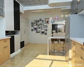 热门面积83平小户型厨房混搭实景图