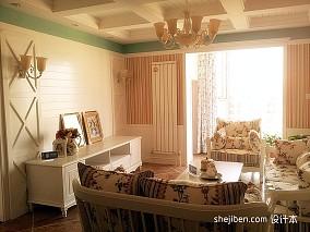 质朴36平混搭小户型客厅案例图