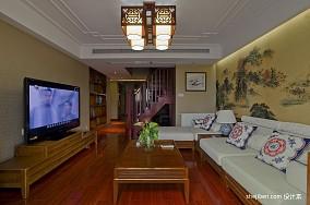 精选面积126平复式客厅混搭实景图片大全
