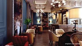 咖啡厅装修效果图-走道