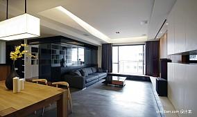2018精选大小95平混搭三居客厅装修效果图片欣赏
