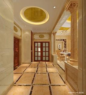 热门125平米欧式别墅玄关装修图片欣赏
