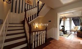 热门130平米美式别墅休闲区效果图片欣赏