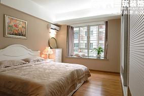 简欧式卧室飘窗装修效果图欣赏