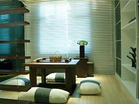 日式客厅榻榻米装修效果图大全图片