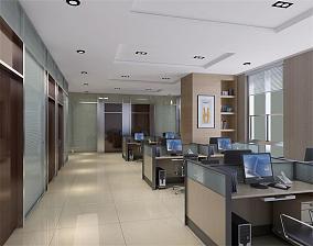 现代办公室装饰图片