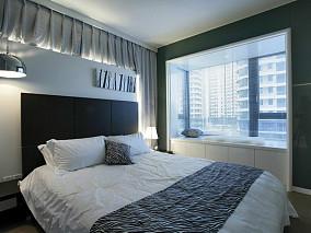 面积75平小户型卧室简约装饰图片欣赏