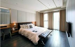 201879平方二居卧室现代设计效果图