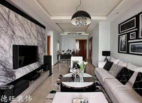 精选面积80平小户型客厅简约装饰图片大全
