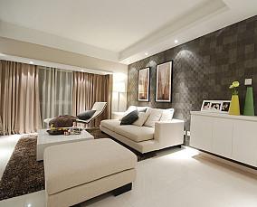 精选面积73平小户型客厅简约装修图