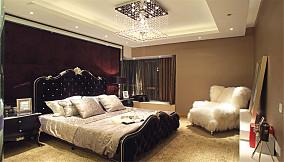 精美面积98平欧式三居卧室装修效果图片
