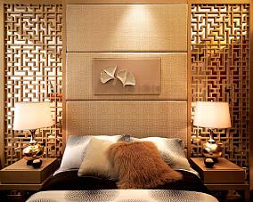 中西混搭卧室背景墙装修效果图