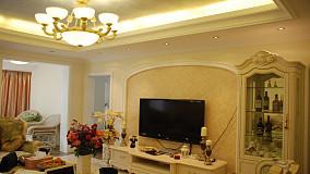 精选小户型客厅欧式装修实景图片