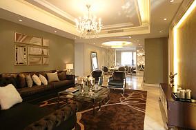 精选81平米二居客厅新古典装修实景图片大全