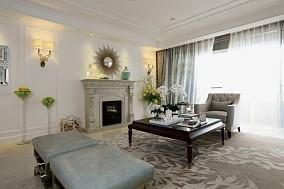 新古典四居客厅装修欣赏图片