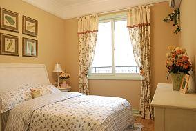 欧式田园风格次卧室装修效果图