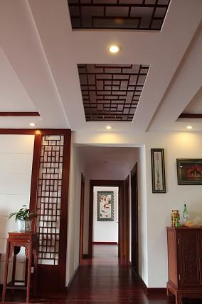 中式风格过道装修设计