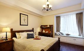 美式风格卧室飘窗装修效果图欣赏