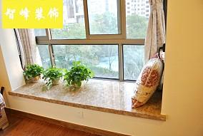 现代风格飘窗大理石台面效果图