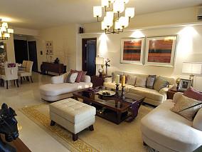 热门东南亚一居客厅装修图