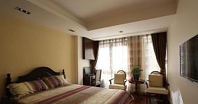 面积80平小户型卧室欧式效果图片