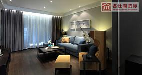 81平米现代小户型客厅装饰图片大全