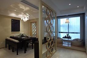 精选面积109平日式三居休闲区装修设计效果图片