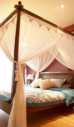 东南亚风格主卧室装修图