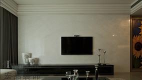 简单瓷砖电视背景墙装修效果图