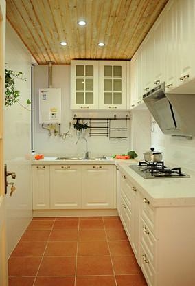 温馨田园风格厨房设计图