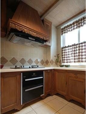 美式装修风格厨房橱柜效果图