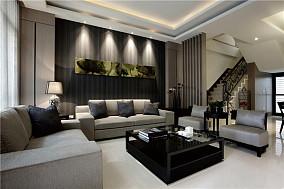 热门现代复式休闲区装修设计效果图片