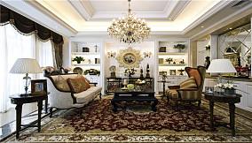 热门二居客厅新古典装修效果图片欣赏