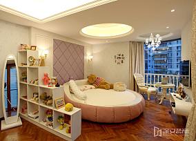 精选面积89平小户型儿童房简欧装修图